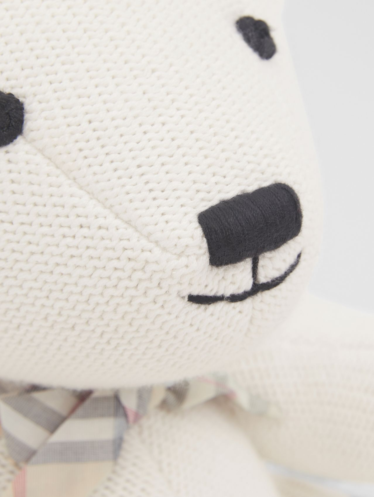 Cotton Cashmere Thomas Bear in Ivory