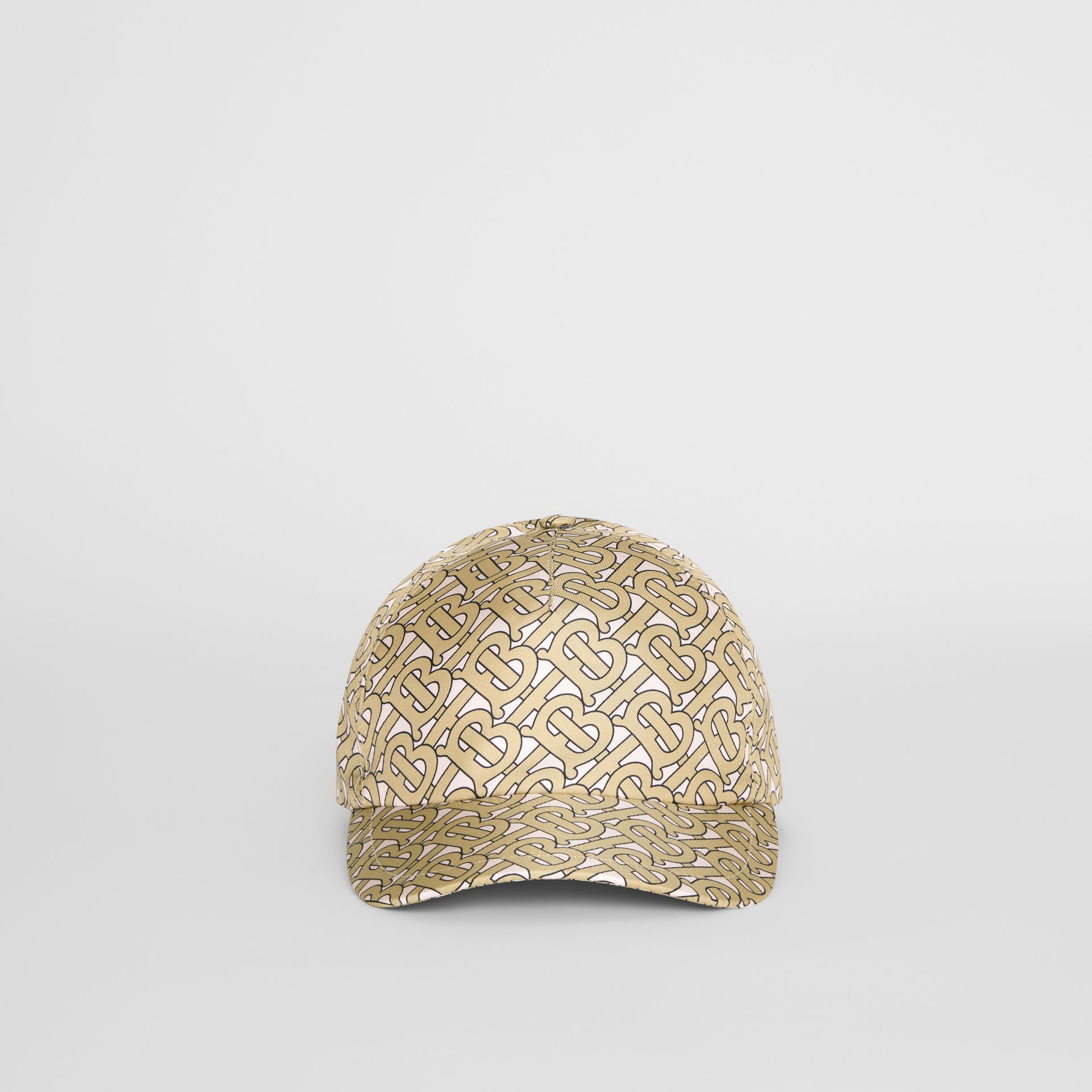 Monogram Print Baseball Cap in Pink - Women | Burberry United Kingdom - gallery image 2