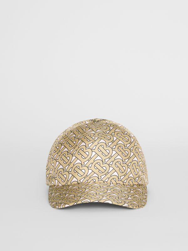 Monogram Print Baseball Cap in Pink - Women | Burberry United Kingdom - cell image 2