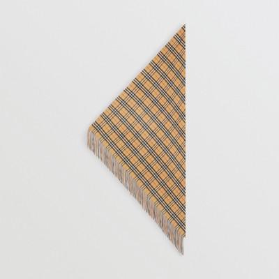 Burberry - Bandana  en cachemire à motif Vintage check - 6