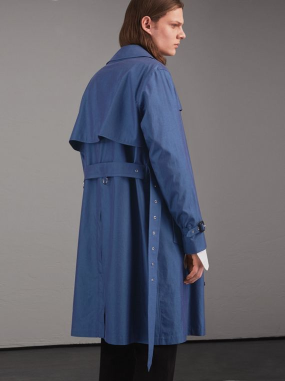 Tropical Gabardine Cotton Trench Coat - cell image 2