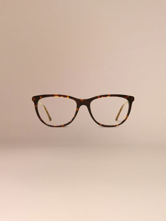Gabardine Collection Cat-Eye Optical Frames Tortoise Shell - cell image 2