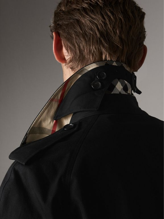 The Westminster – Extra-long Trench Coat in Black - Men | Burberry United States - cell image 1