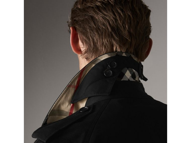 The Westminster – Extra-long Trench Coat in Black - Men | Burberry Australia - cell image 1