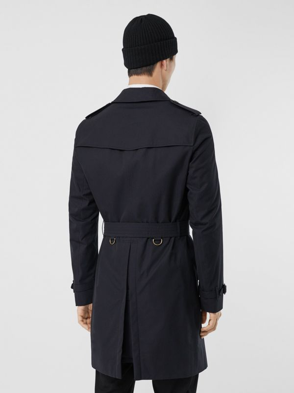 The Chelsea – Long Trench Coat in Navy - Men | Burberry - cell image 2