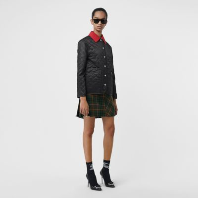 Diamond Quilted Barn Jacket by Burberry