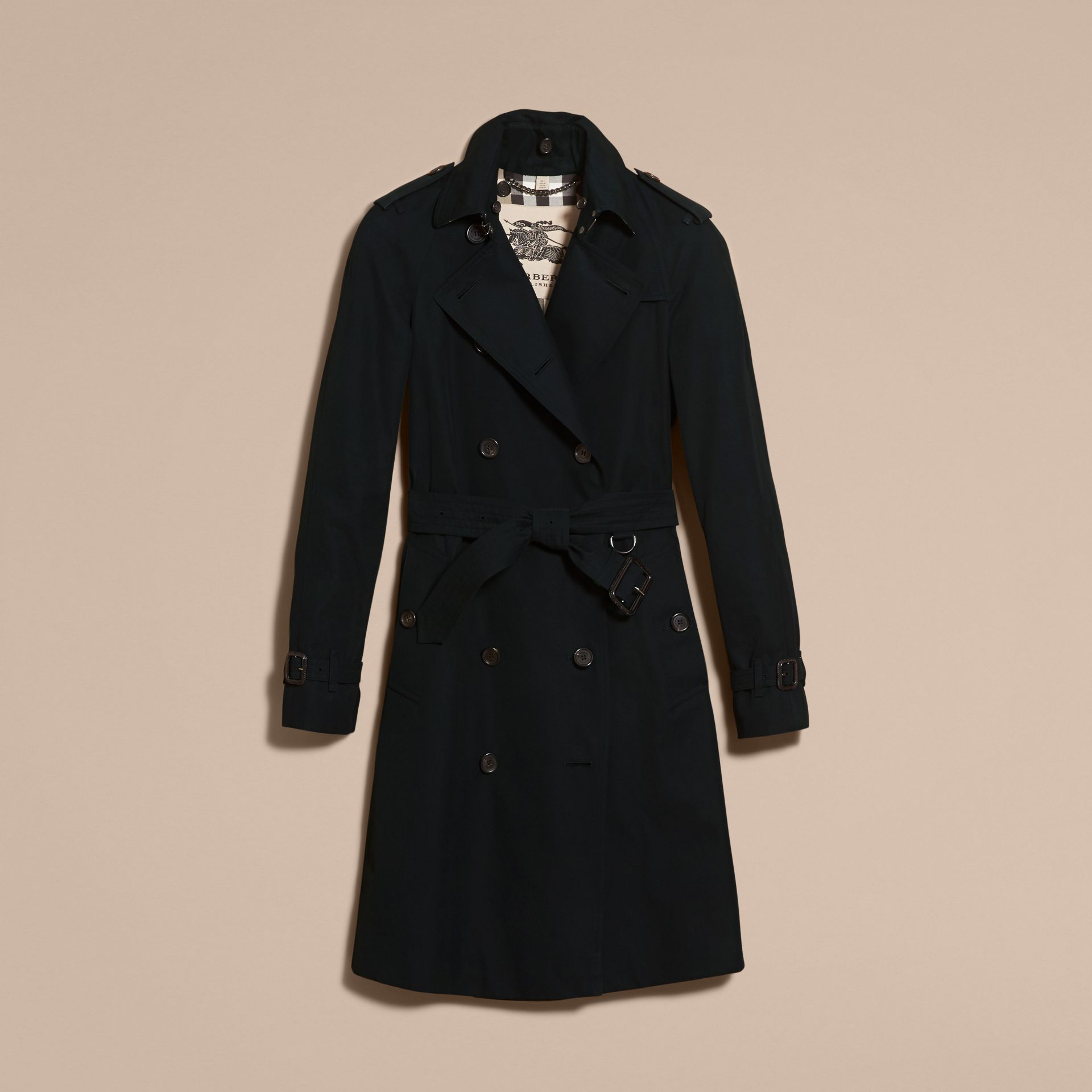 Black The Westminster - Long Heritage Trench Coat - gallery image 4