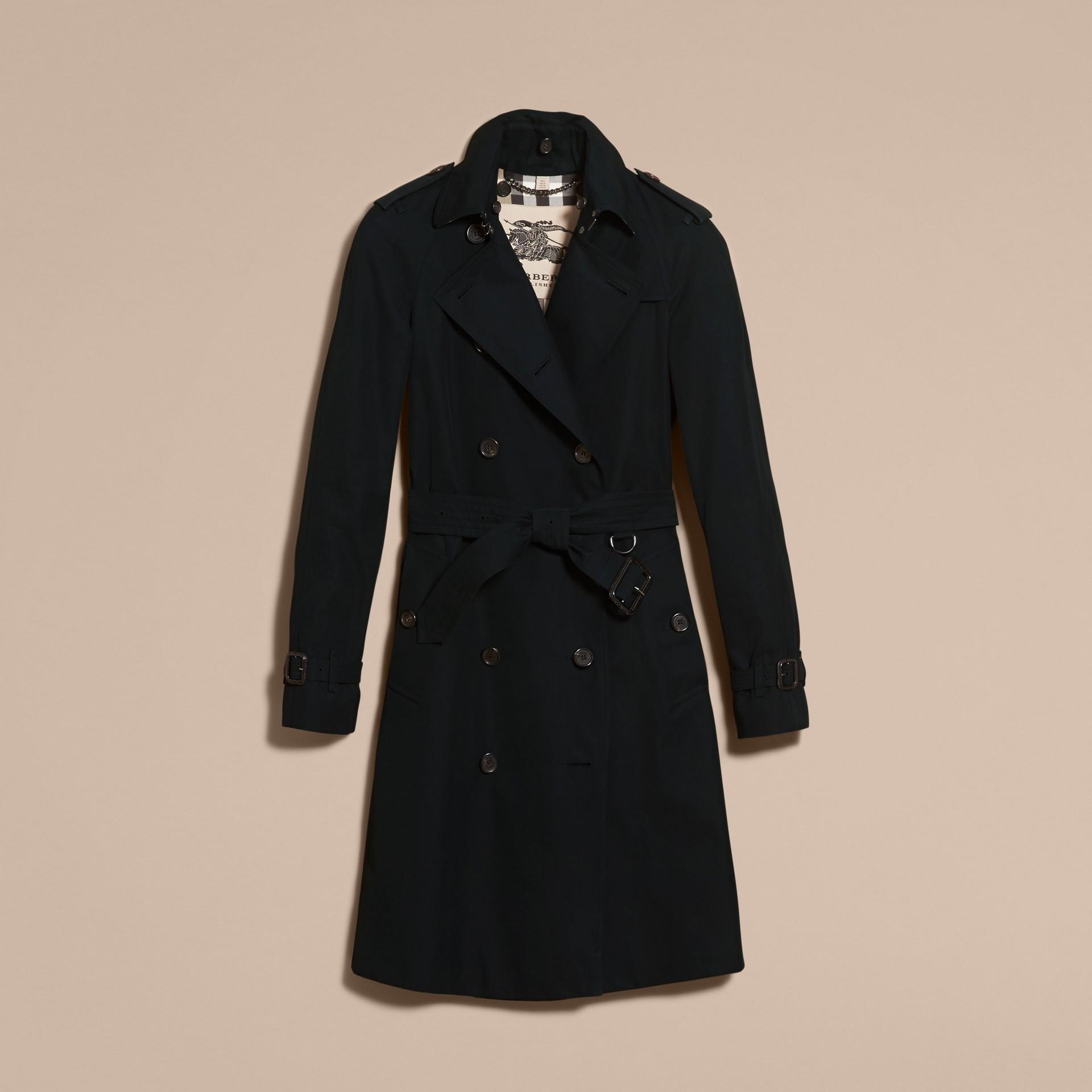 Noir The Westminster – Trench-coat Heritage long Noir - photo de la galerie 4
