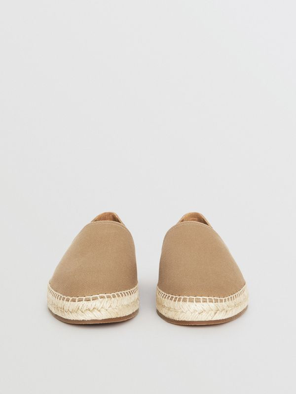 Canvas Check Espadrilles in Classic - Men | Burberry - cell image 3