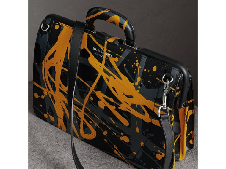 The DK88 Splash Doctor's Bag in Black/splash - Men | Burberry United Kingdom - cell image 4
