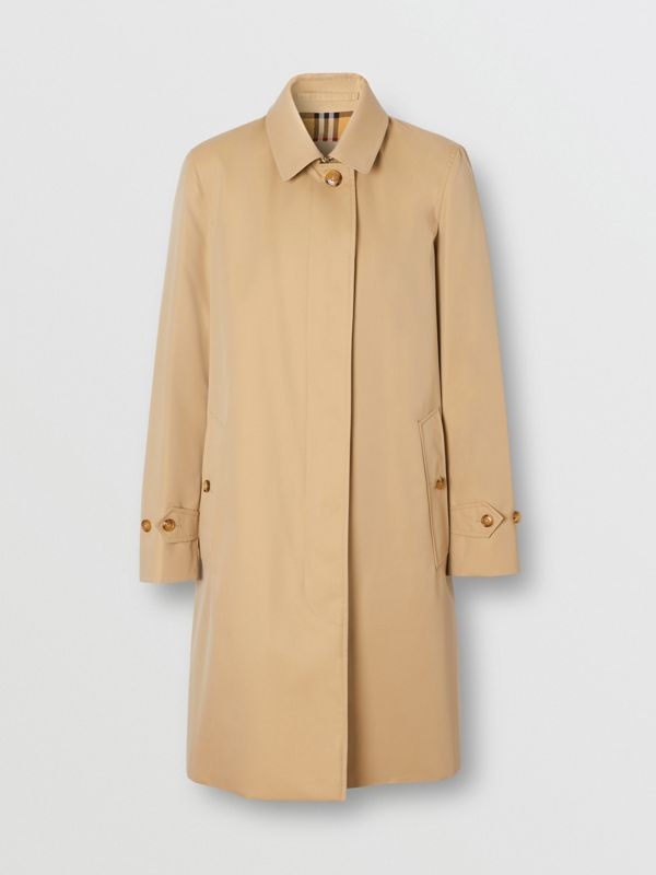 The Pimlico Heritage Car Coat in Honey - Women | Burberry United Kingdom - cell image 3