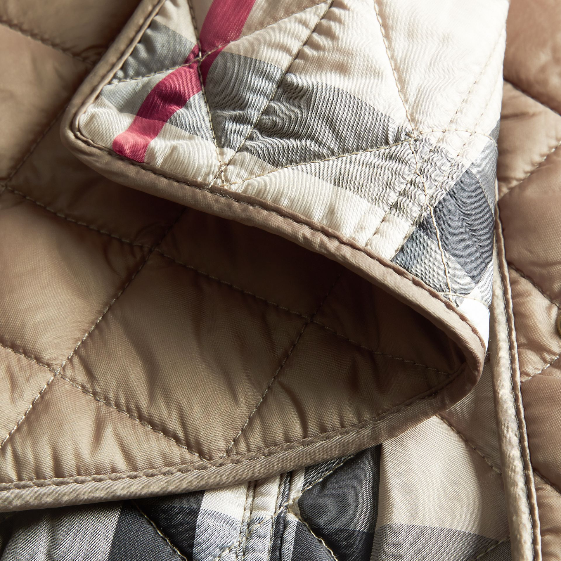 Pale fawn Diamond Quilted Jacket Pale Fawn - gallery image 2
