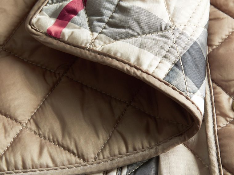 Pale fawn Diamond Quilted Jacket Pale Fawn - cell image 1