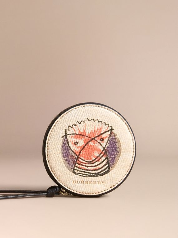 Pallas Heads Print Leather Coin Case - Women | Burberry Singapore - cell image 3