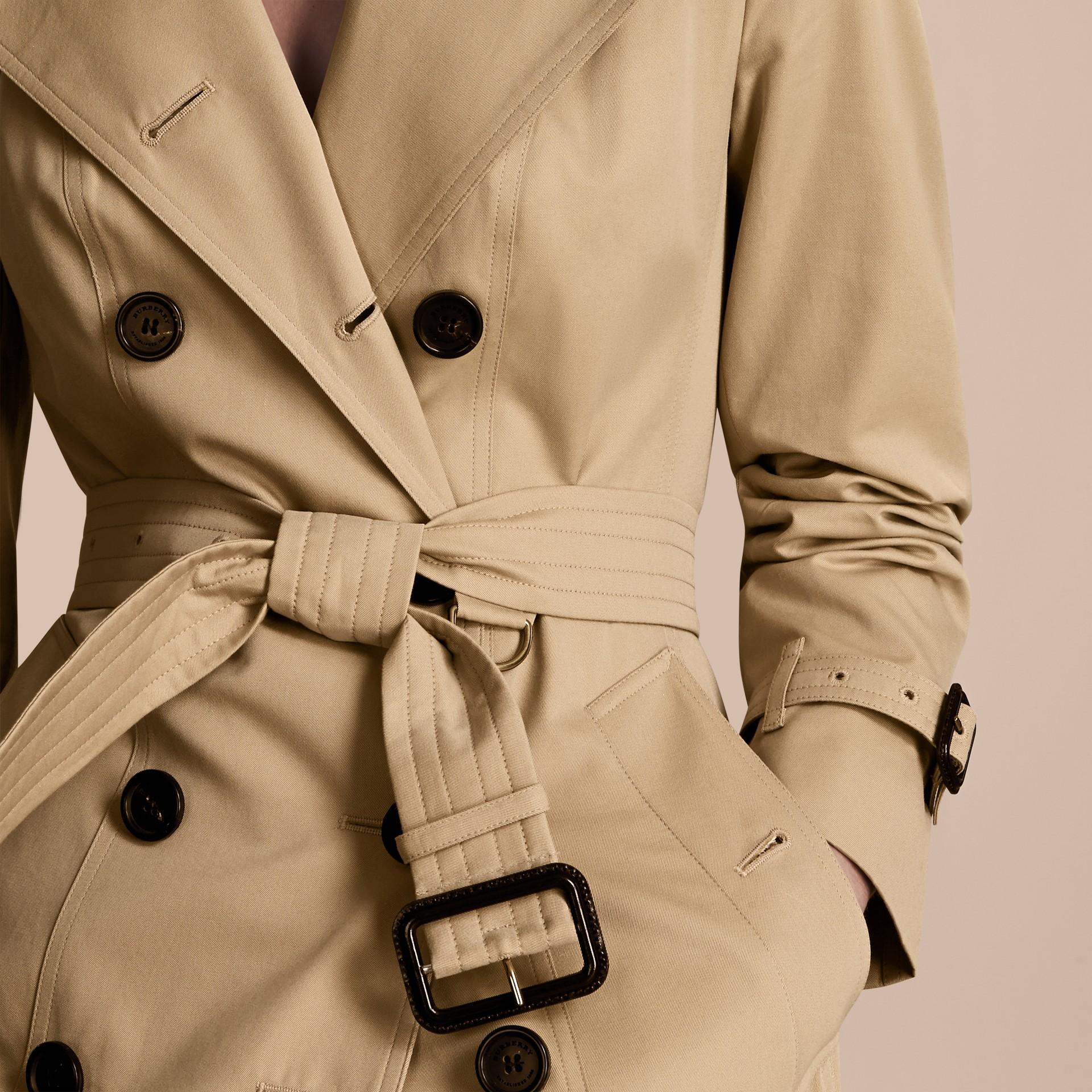 Miel The Sandringham – Trench-coat Heritage long Miel - photo de la galerie 6