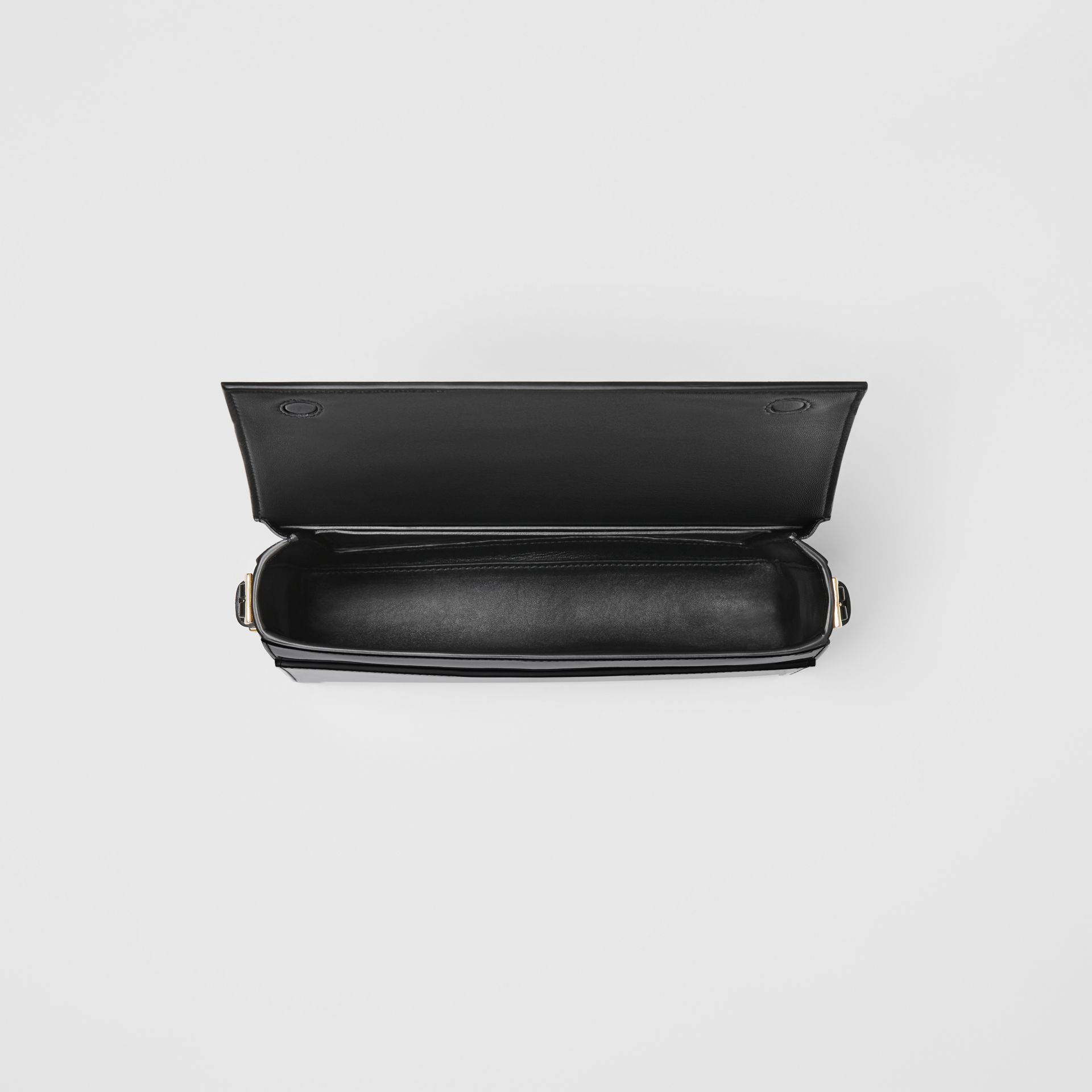 Large Patent Leather Grace Bag in Black - Women | Burberry - gallery image 4
