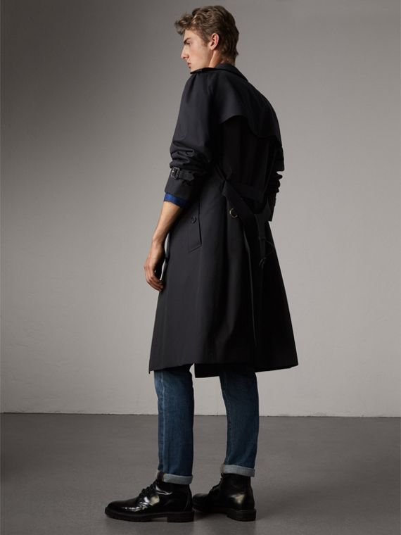 The Westminster – Extra-long Trench Coat in Navy - Men | Burberry Hong Kong - cell image 2