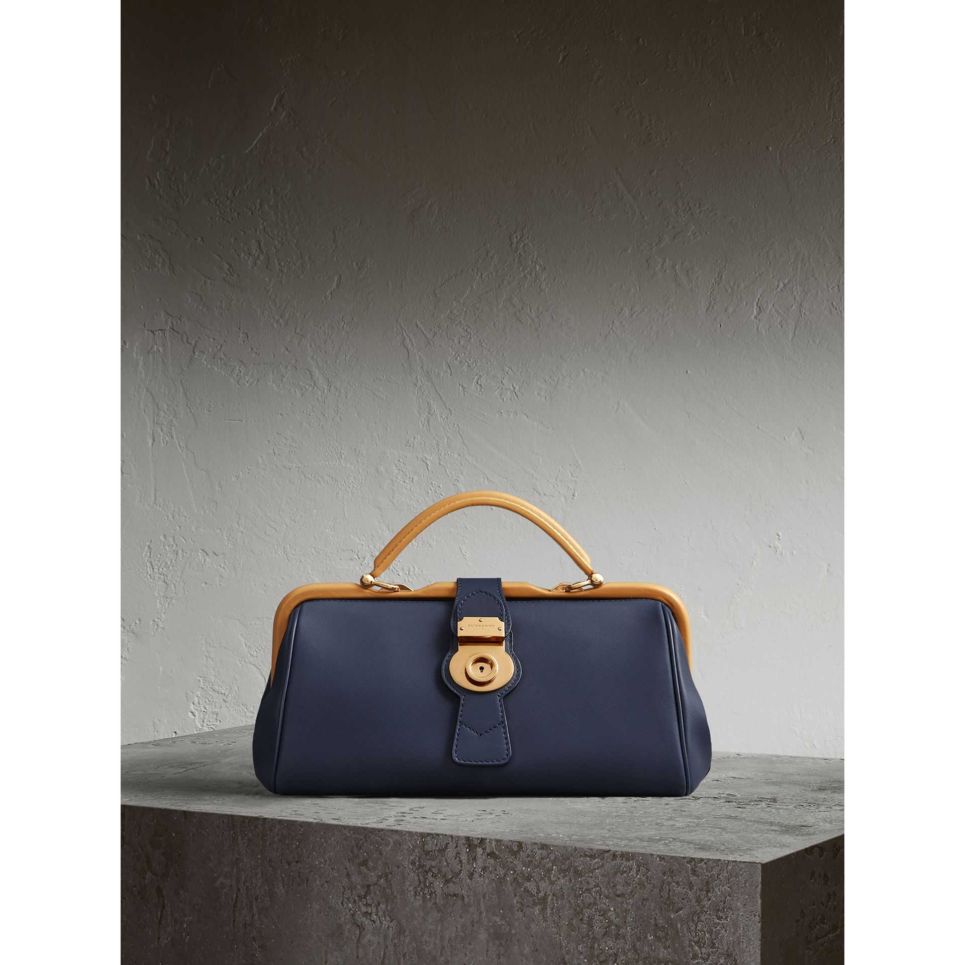 The DK88 Bowling Bag in Ink Blue - Women | Burberry - gallery image 0