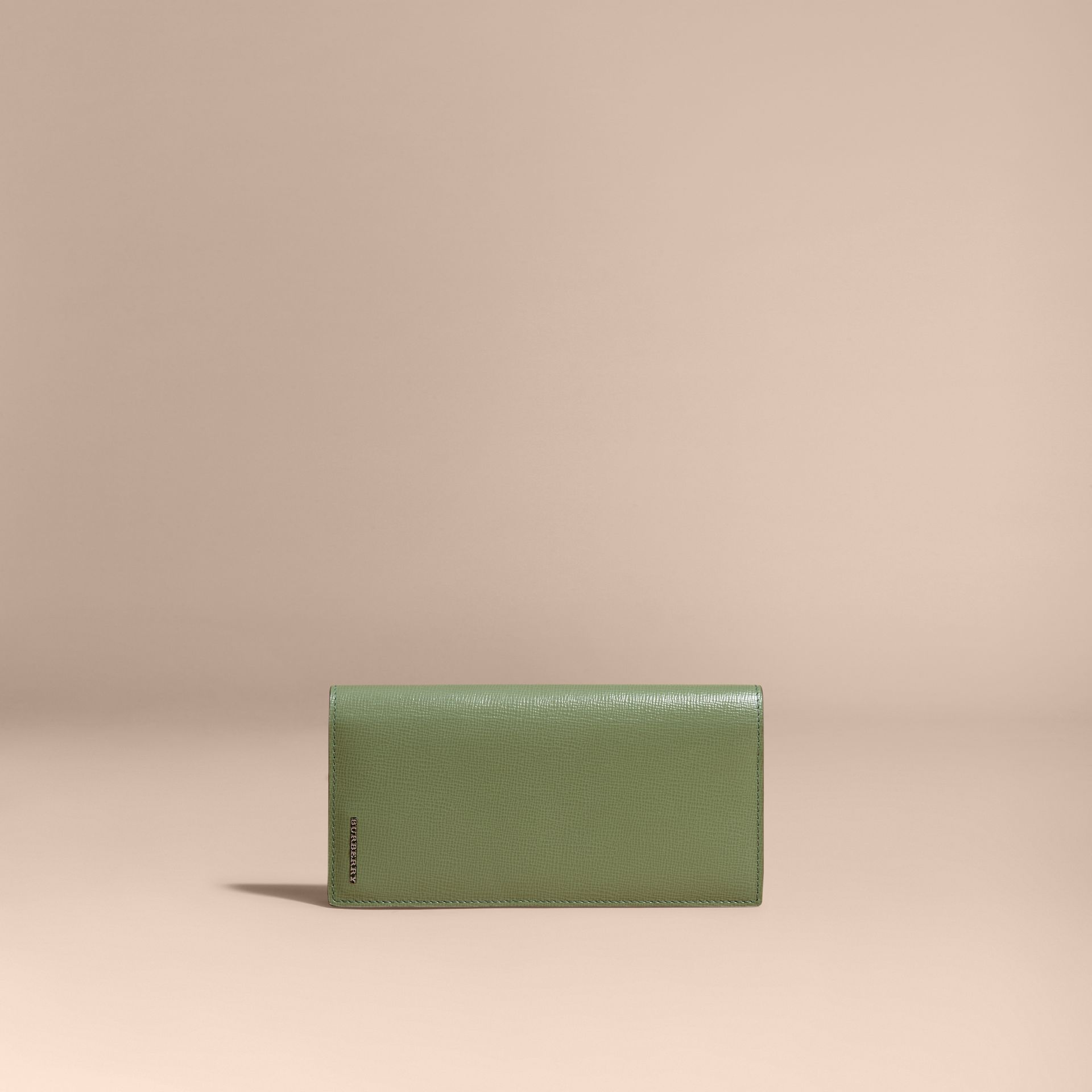 London Leather Continental Wallet Antique Green - gallery image 7