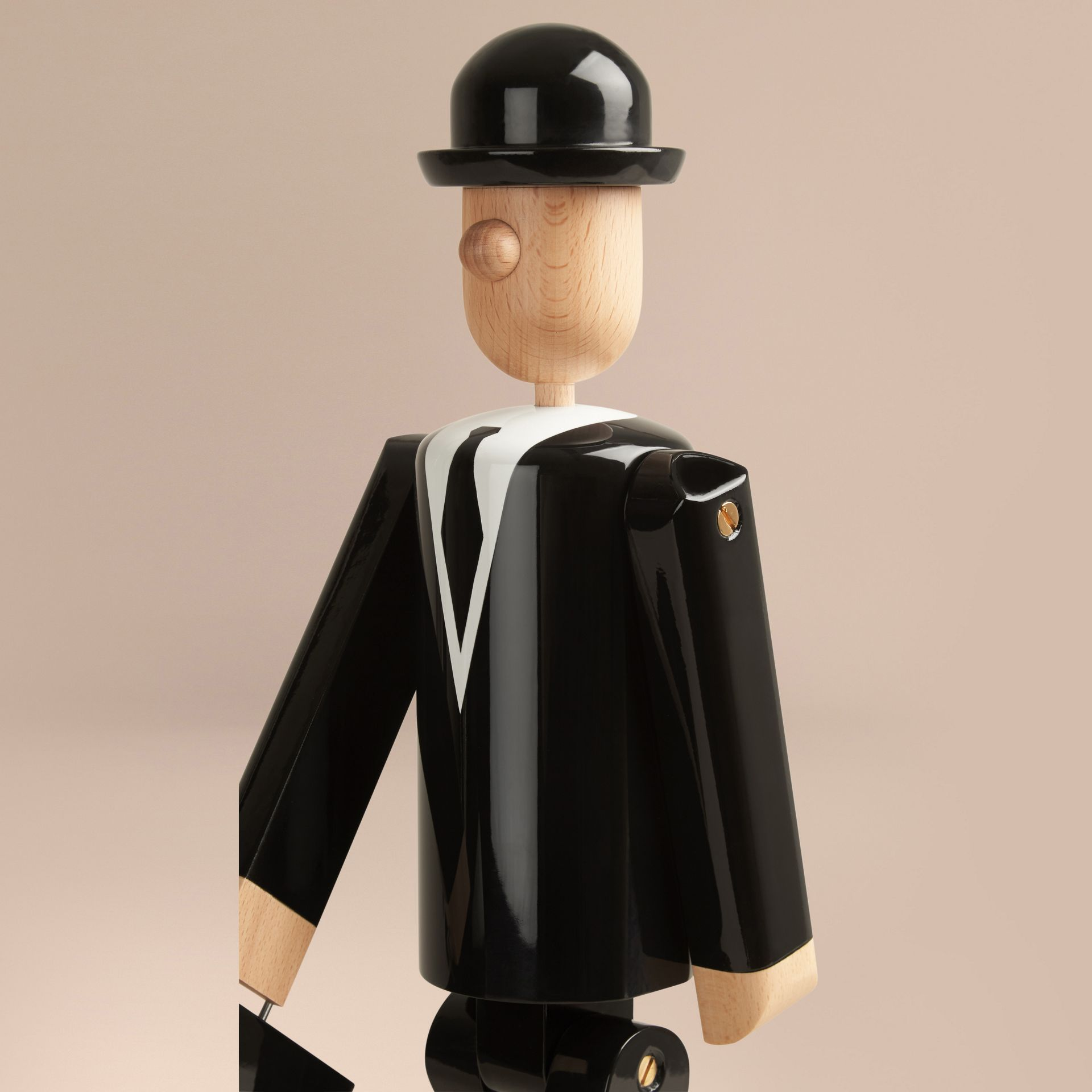 Multicolour The City Gent Limited Edition Wooden Puppet - gallery image 7