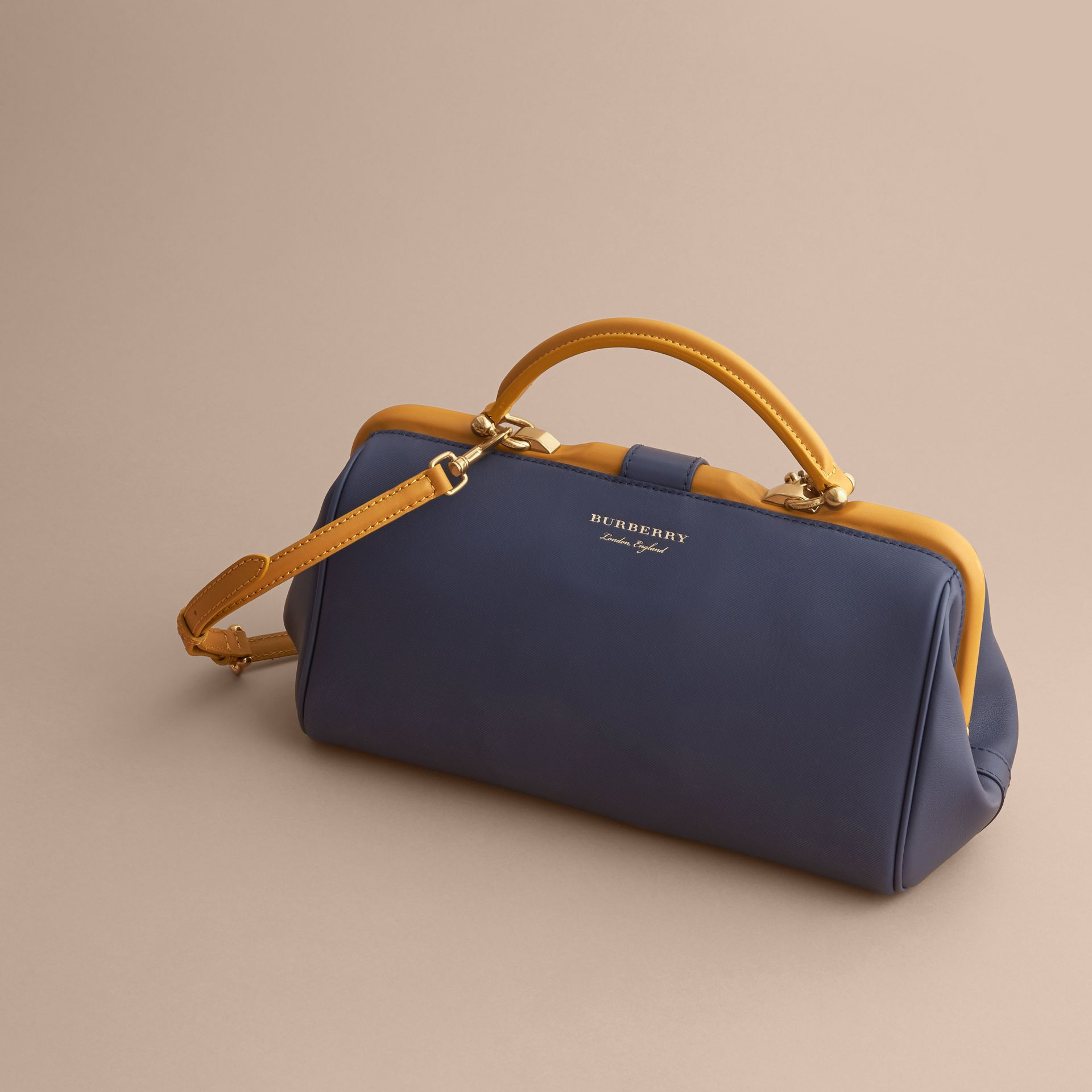 The DK88 Bowling Bag in Ink Blue - Women | Burberry - gallery image 5