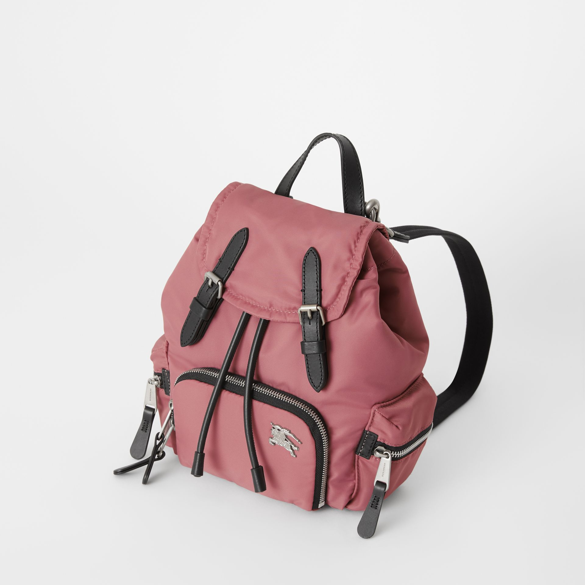The Small Crossbody Rucksack aus wattiertem Nylon (Malvenfarben-rosa) - Damen | Burberry - Galerie-Bild 4