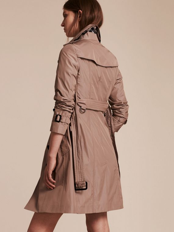Nude Long Technical Trench Coat - cell image 2