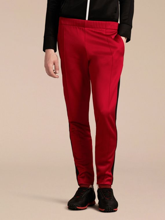 Pantalon de survêtement ultra-brillant Rouge Canneberge