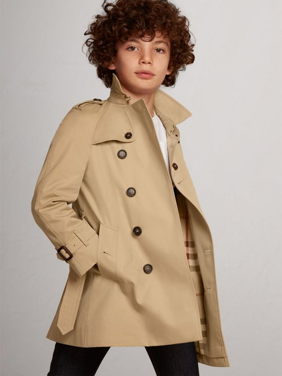 The Wiltshire Trench Coat in Honey