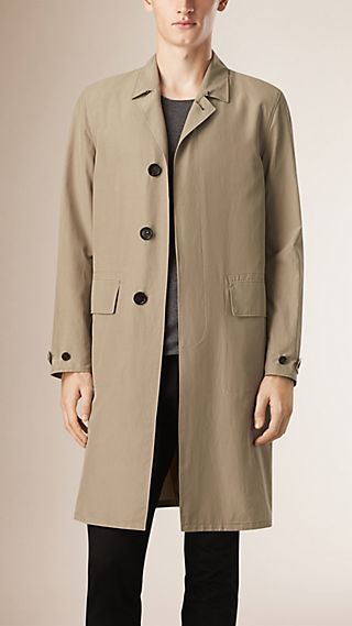 Unlined Lightweight Cotton Car Coat