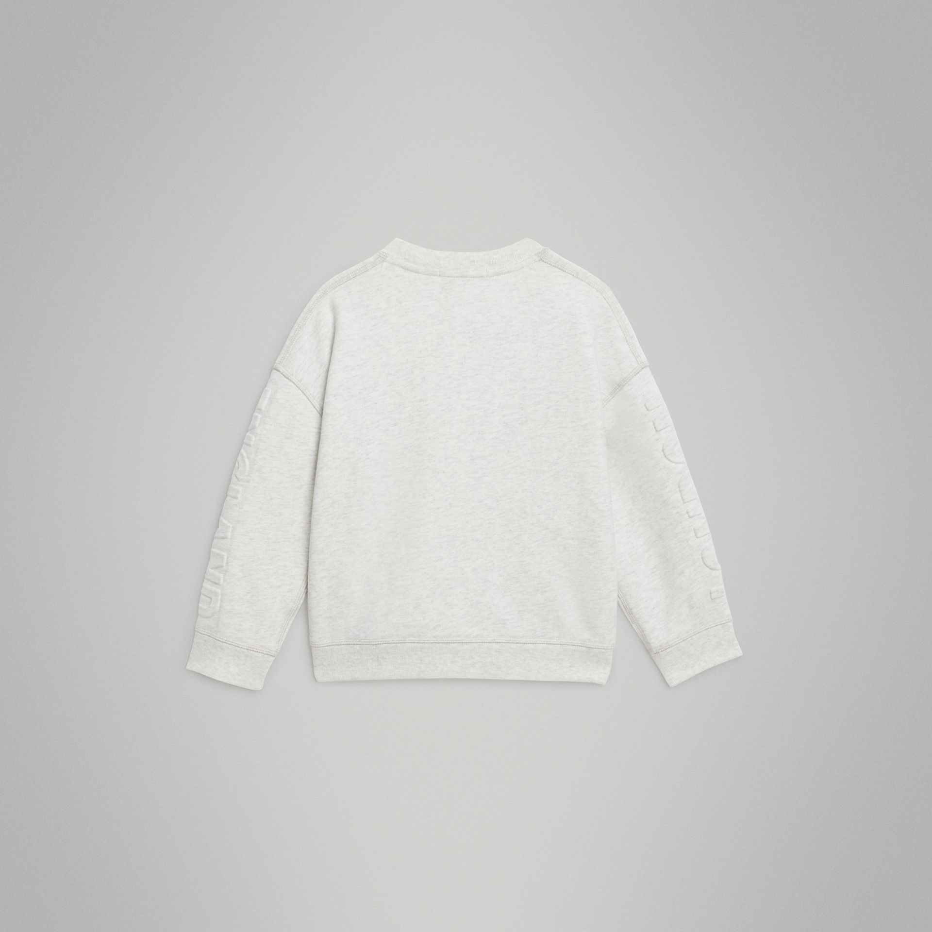 Sweat-shirt en coton avec logo estampé (Camaïeu De Blancs) | Burberry - photo de la galerie 3