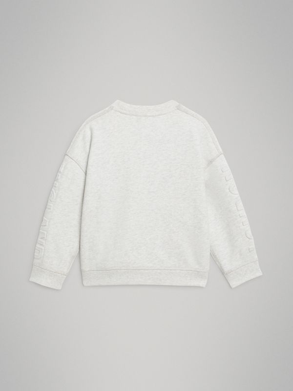 Sweat-shirt en coton avec logo estampé (Camaïeu De Blancs) | Burberry - cell image 3