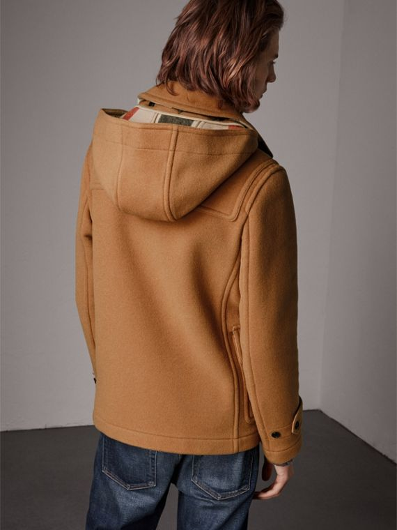 The Plymouth Duffle Coat in Mid Camel - Men | Burberry Singapore - cell image 2