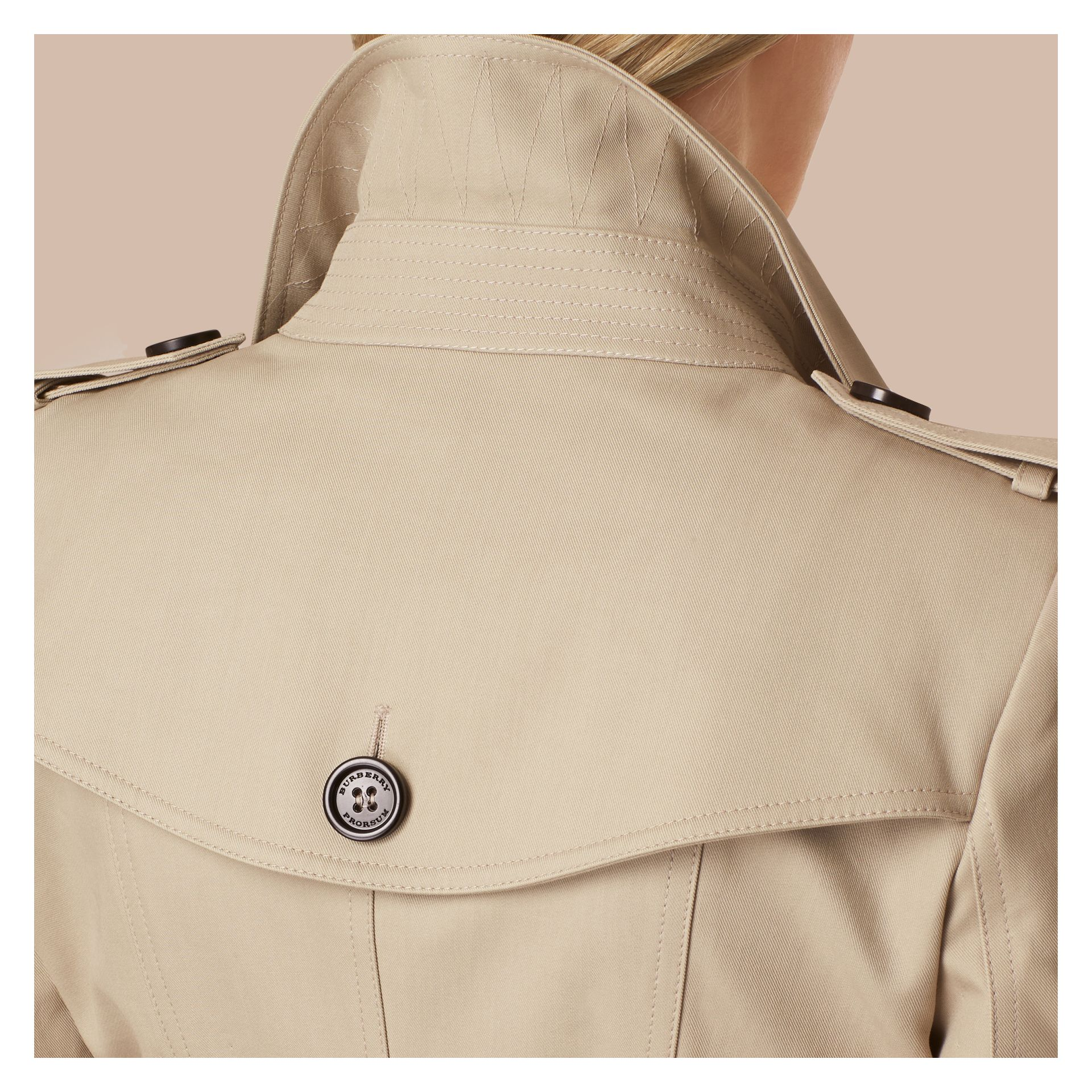 Trench Double Cotton Twill Trench Coat - gallery image 5