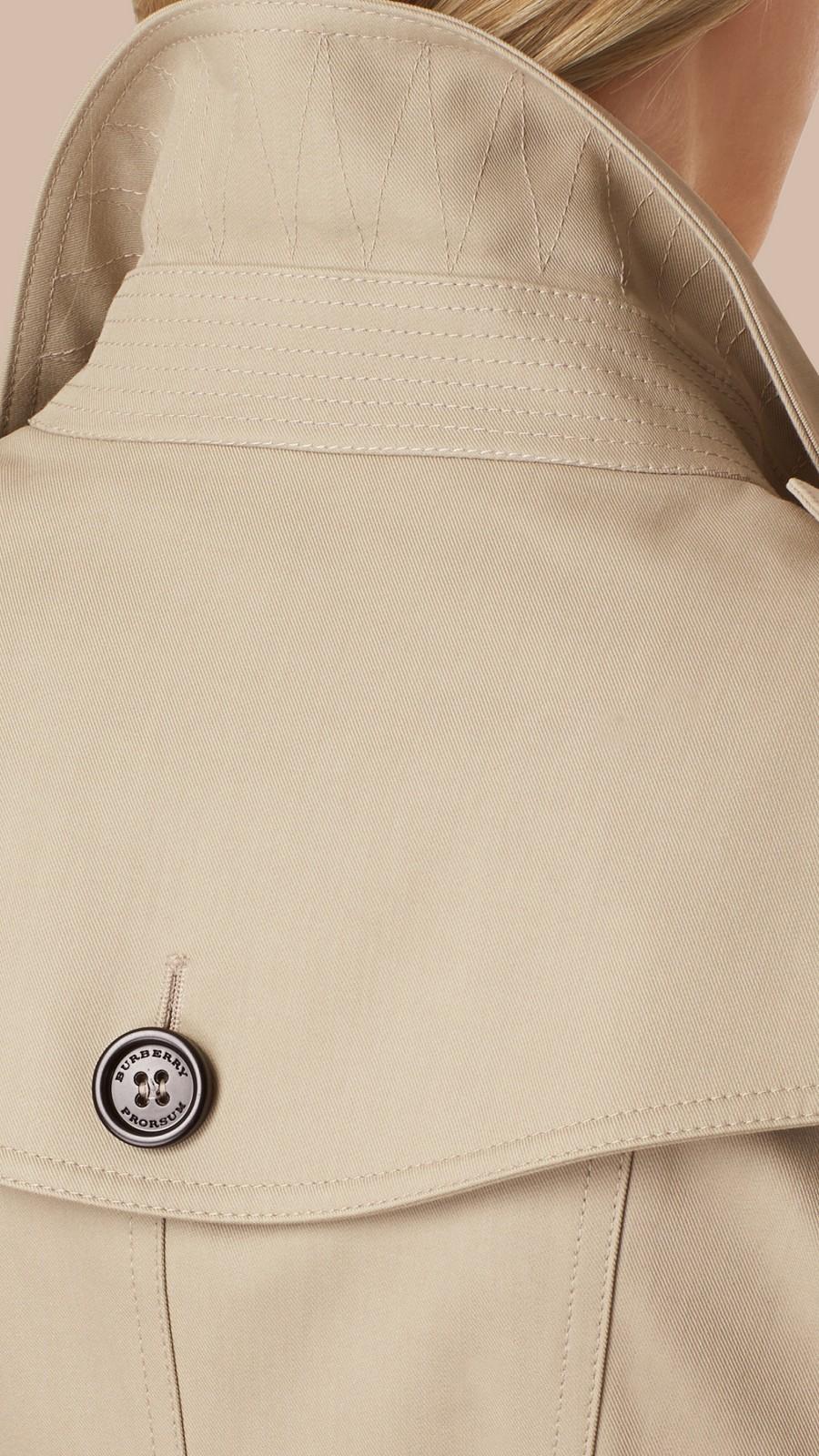 Trench Trench-coat en double sergé de coton - Image 5