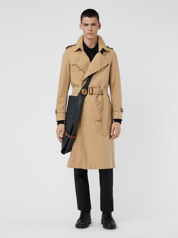 The Long Chelsea Heritage Trench Coat in Honey