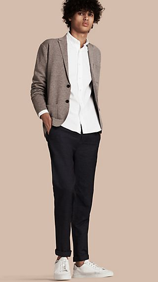Wool Cashmere Knitted Jacket