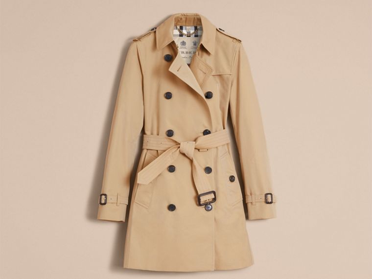 Honey The Kensington – Mid-Length Heritage Trench Coat Honey - cell image 4
