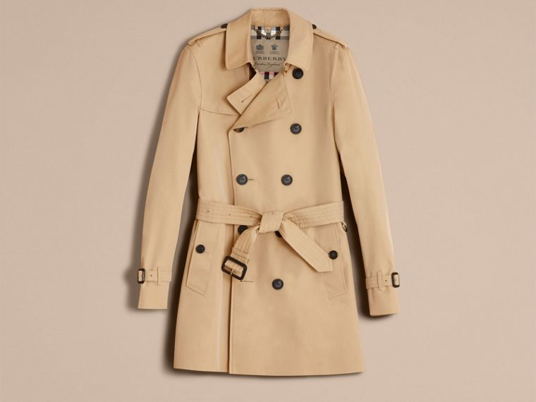 Honey The Sandringham – Mid-length Heritage Trench Coat Honey - cell image 4