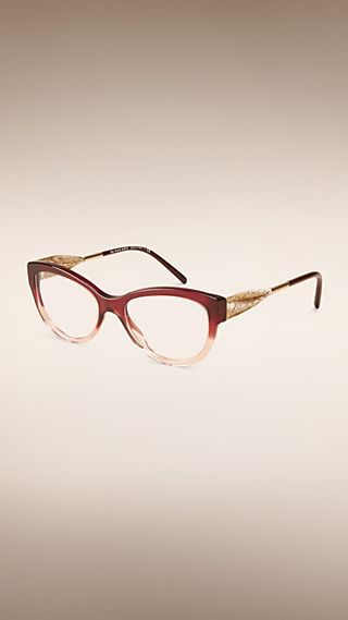 Gabardine Lace Collection Cat-eye Optical Frames