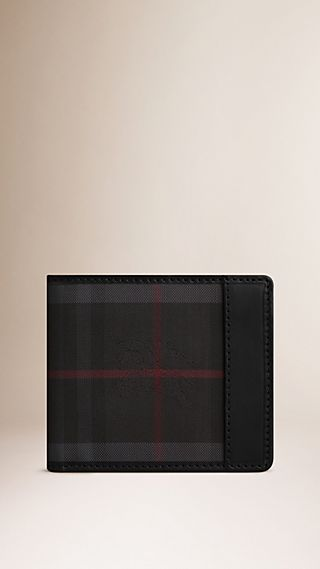 Horseferry Check Folding Wallet