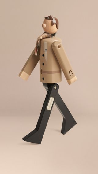 Mr Trench Limited Edition Wooden Puppet