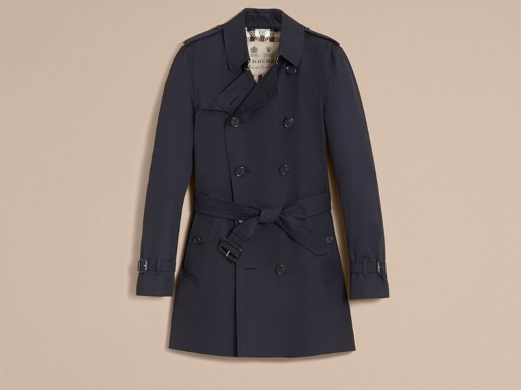 Navy The Kensington – Mid-length Heritage Trench Coat Navy - cell image 4