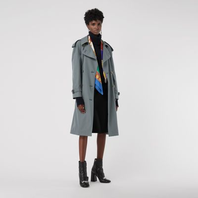 Wool Lined Tropical Gabardine Trench Coat by Burberry