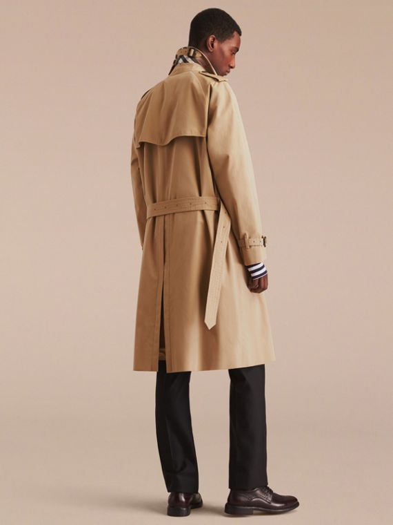 Honey The Westminster – Long Heritage Trench Coat Honey - cell image 3