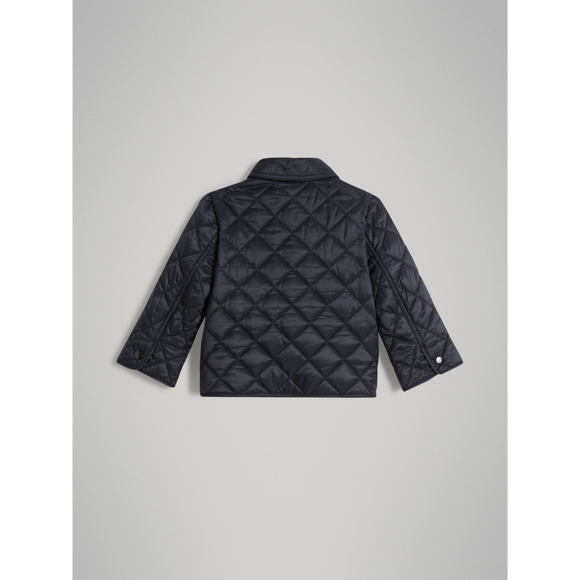 Lightweight Diamond Quilted Jacket in Ink | Burberry - gallery image 2