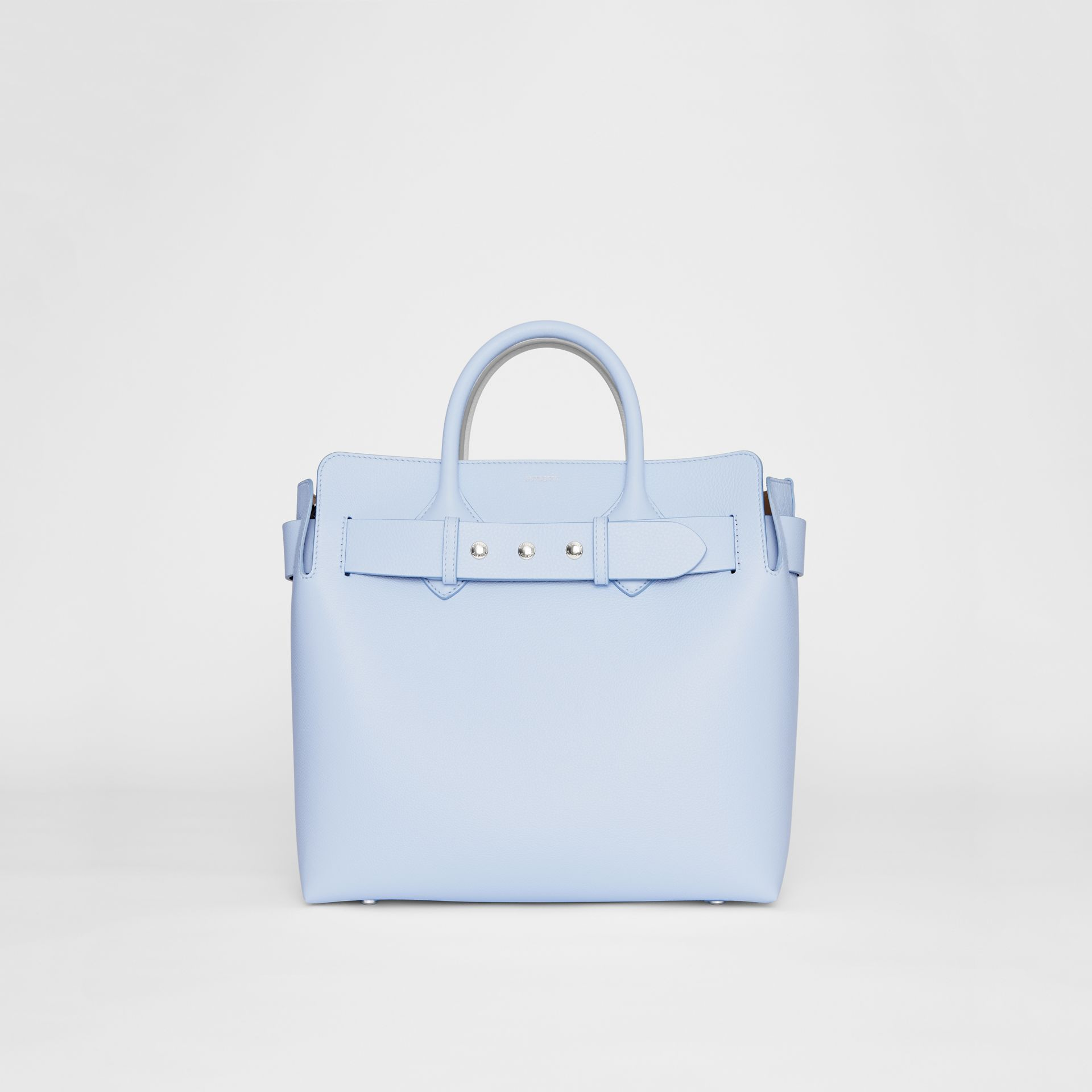 The Medium Leather Triple Stud Belt Bag in Pale Blue - Women | Burberry Singapore - gallery image 0