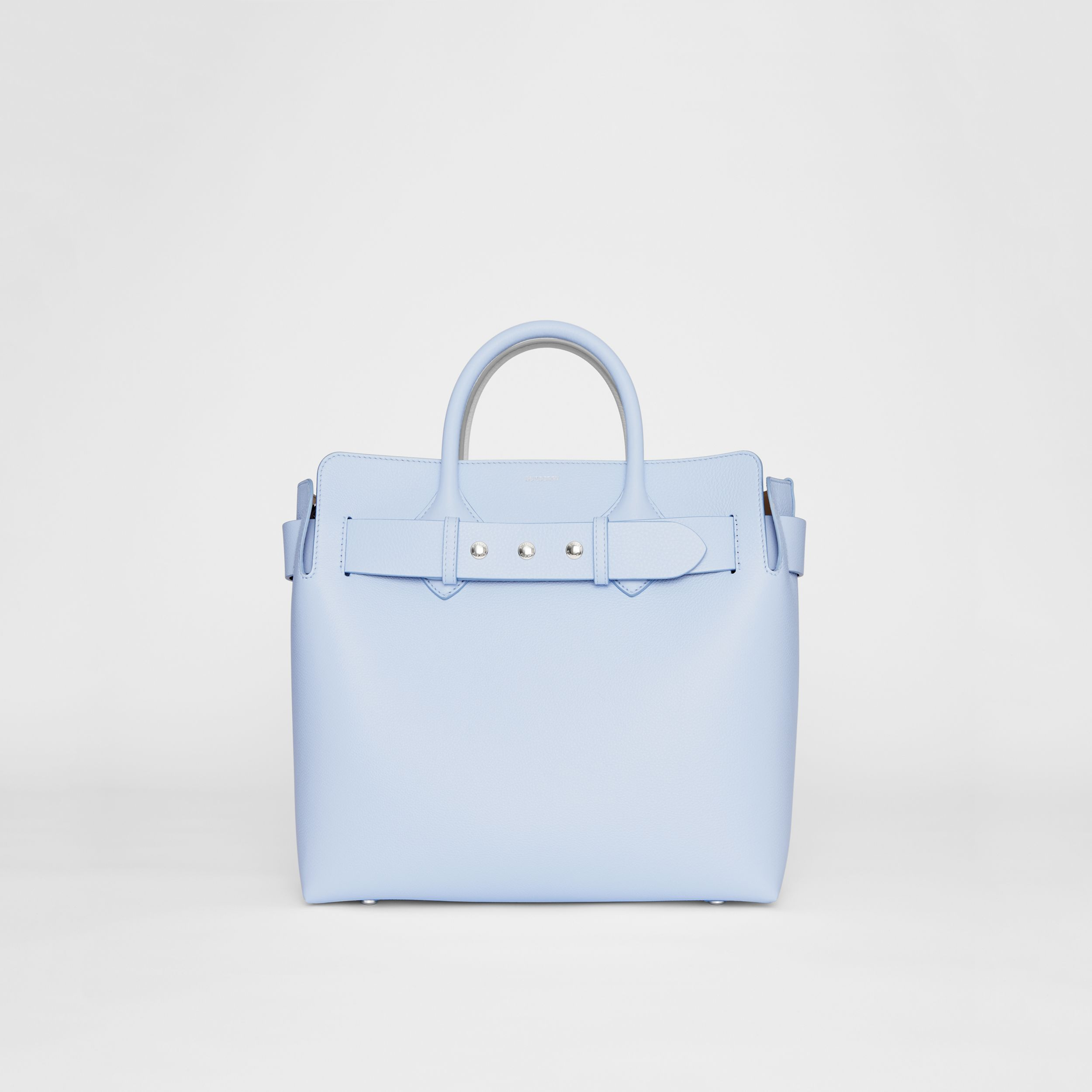 The Medium Leather Triple Stud Belt Bag in Pale Blue - Women | Burberry - 1