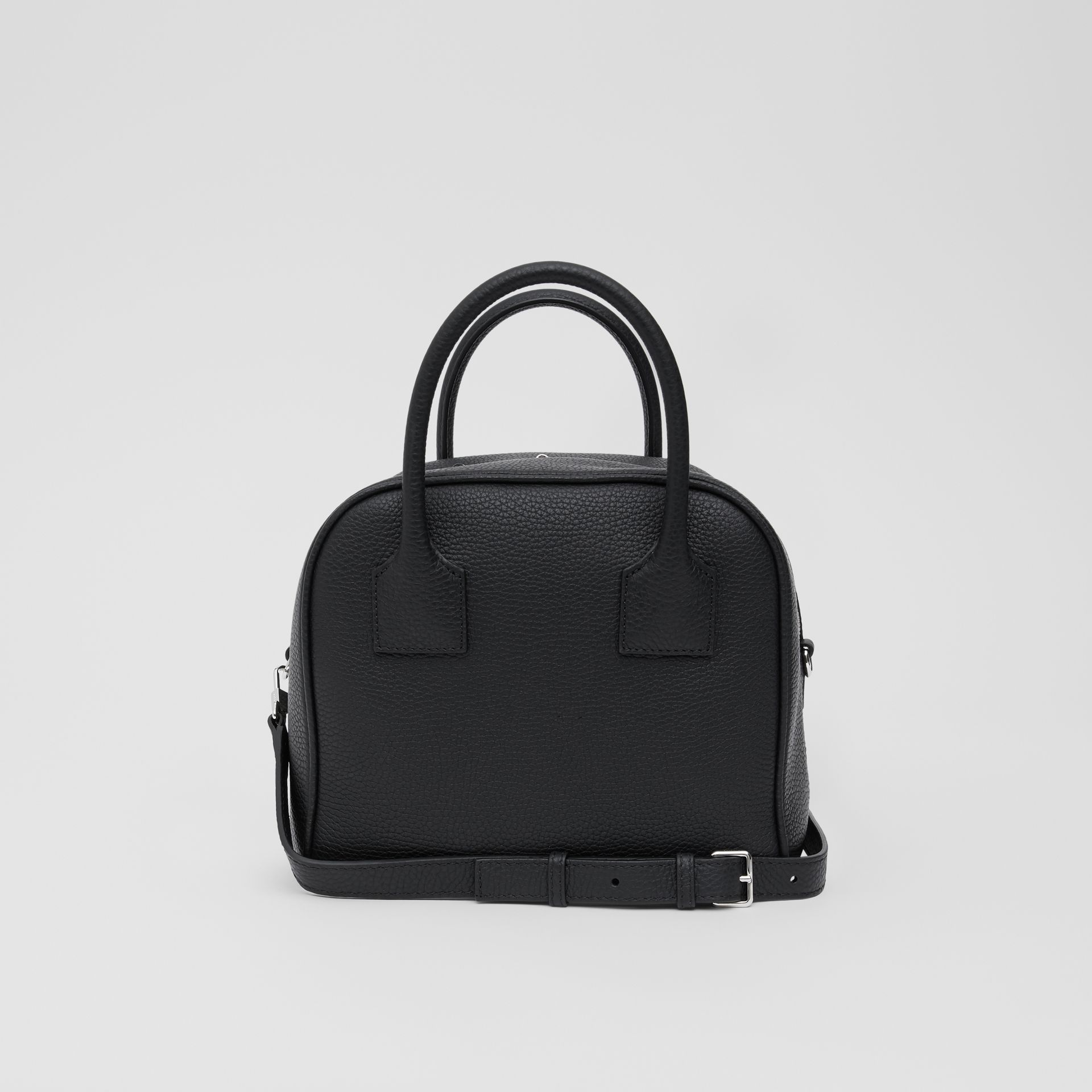 Small Leather Cube Bag in Black - Women | Burberry - gallery image 7