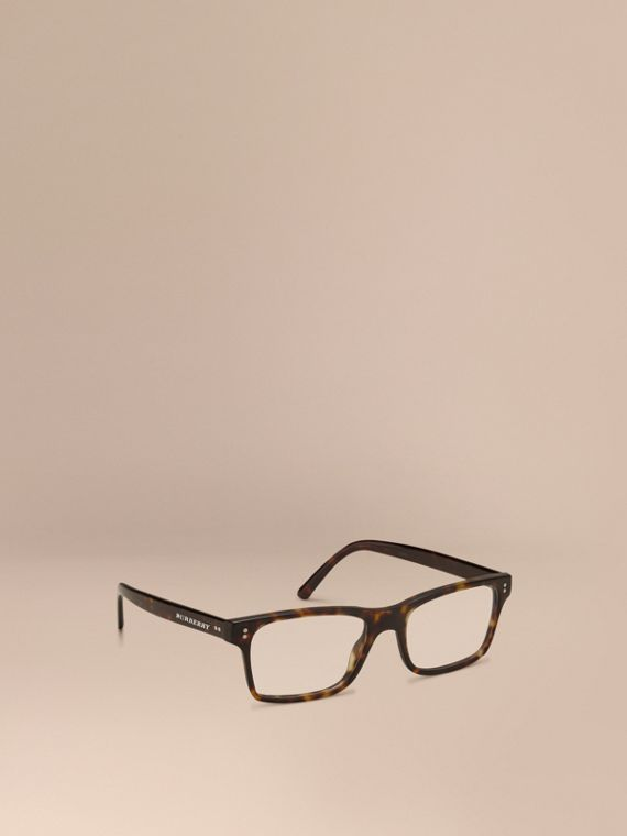 Rectangular Optical Frames Brown